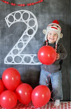 so gonna take this pic next month at the littles sock monkey party!