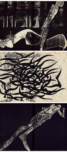 Roberto J. Páez: Illustrations for Don Quixote. Buenos Aires (1969).