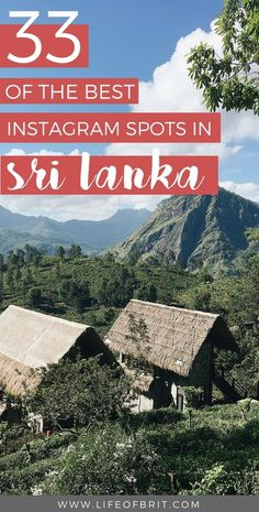best instagram spots in Sri lanka