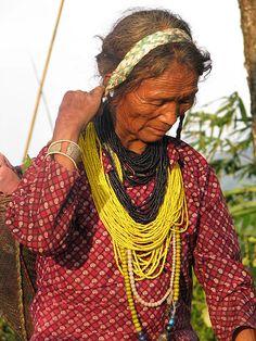 Nyishi Woman in, Arunachal Pradesh