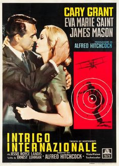 "Movie Posters:Hitchcock, North by Northwest (MGM, 1959). Italian 4 - Foglio (54.5"" X76.5"").. ... Image #1"