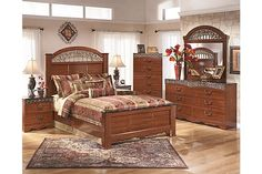 The Key Town Panel Bedroom Set from Ashley Furniture HomeStore ...