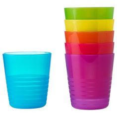 IKEA Kalas Children's Beakers Set of 6 Safe to Use in Microwave and Dishwasher Ikea http://www.amazon.co.uk/dp/B005JFBH12/ref=cm_sw_r_pi_dp_NPUvwb08K84SB