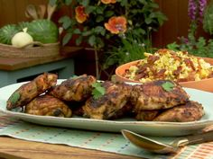 """Smokey Chipotle Chicken (Smokin' Hot Flavors) - Elizabeth Karmel, Chef/Grilling Expert & Cookbook Author, Guest on """"The Kitchen"""" on the Food Network. Chicken Recipes Food Network, Mexican Food Recipes, Ethnic Recipes, Turkey Recipes, Dinner Recipes, Holiday Recipes, Grilling Recipes, Cooking Recipes, Grilling Ideas"""