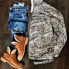 21 effortless and stylish college winter outfits #college #outfit #winter