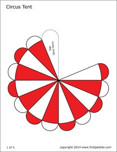 Free circus printables to color and use for our fun collection of circus crafts for kids or use them for your own circus-themed crafts and activities. Carnival Themed Party, Carnival Birthday Parties, Carnival Themes, Circus Birthday, Elephant Birthday, Carnival Costumes, Circus Crafts, Circus Animal Crafts, Tent Craft
