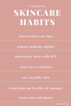Organic Skin Care, Natural Skin Care, Healthy Skin Tips, How To Clean Makeup Brushes, Face Skin Care, Skincare Blog, Skincare Routine, Beauty Quotes, Beauty Skin
