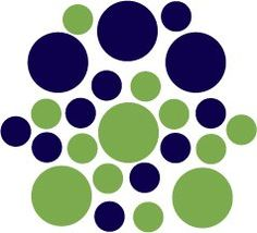 Amazon.com: Set of 30 - Lime Green / Dark Blue Navy Circles Polka Dots Vinyl Wall Graphic Decals Stickers: Home & Kitchen Teal And Grey, Navy And Green, Dark Blue, Boys Room Decor, Kids Decor, Crib Wall, Navy Blue Decor, Camping With A Baby, Baby Boy Rooms