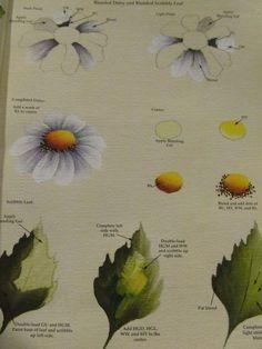 Priscilla Hauser: daisies & leaves