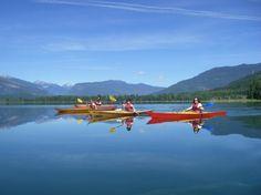 Guided kayaking in Revelstoke BC 2016 Revelstoke Bc, Double Kayak, Wooden Kayak, What To Do Today, Tour Tickets, Rafting, British Columbia, Natural, Kayaking