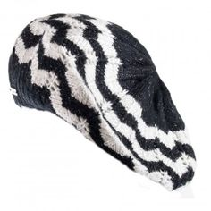 Stylish hats to complete the look!  Calvin Klein Womens Sequin Beret Hat - $30.99 -