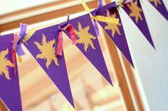 Rapunzel Banner for K's Party