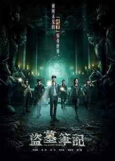 The Lost Tomb: Li Yi Feng, Yang Yang, Tiffany Tang. #cdrama