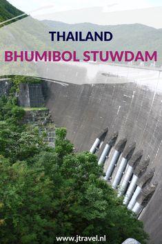 Deze stuwdam is genoemd naar de inmiddels vorige koning Bhumibol. De dam werd o.a. gebouwd ivm de waterberging en de opwekking van waterkracht. Meer weten over deze stuwdam, lees dan mijn artikel. Lees je mee? #stuwdam #bhumibolstuwdam #thailand #jtravel #jtravelblog