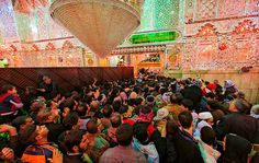 Martyrdom Procession of Rasool Allah [sawa] and Imam Hassan al-Mujtaba [as]  Najaf, النجف.