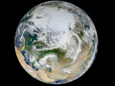 NASA - Blue Marble 2012 - Arctic View