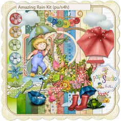 Amazing Rain Full Kit (PU/S4H) by Silke