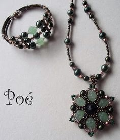 beaded medallion tutorial