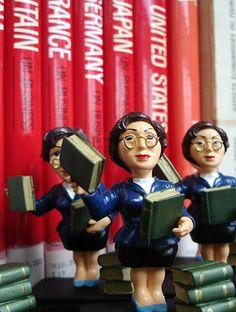 Librarian dolls :)