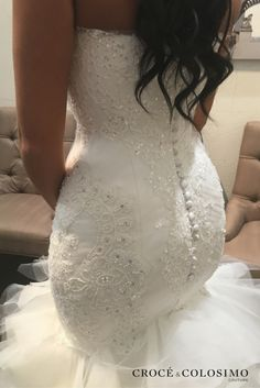 Each intricate detail in our Croce & Colosimo bridal gowns are handcrafted to beautifully accentuate every aspect of your natural curves.