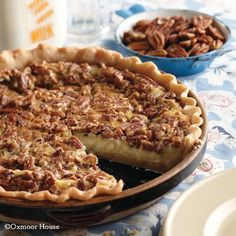Gooseberry Patch Recipes: Pecan Cheesecake Pie from Blue Ribbon Family Favorites