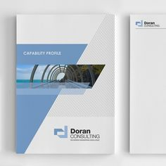 Company profile report cover for Engineering Consultancy by logodentity