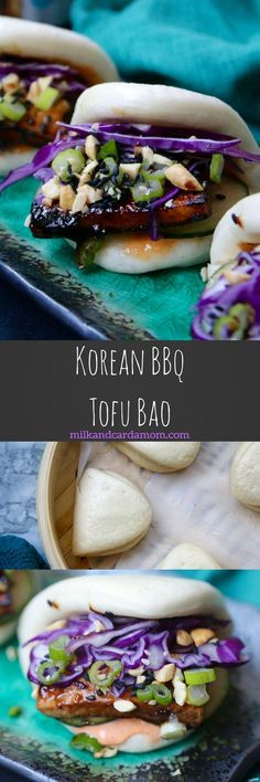 Delicious vegetarian bao made with tofu and veggies! A flavorful 30-minute meal recipe!