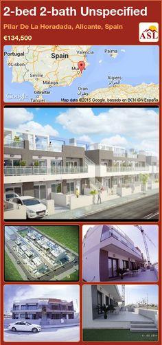 2-bed 2-bath Unspecified in Pilar De La Horadada, Alicante, Spain ►€134,500 #PropertyForSaleInSpain
