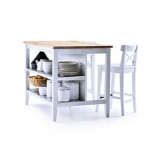 A tried-and-true affordable favorite, Ikea's Stenstorp is the best of simple, functional Scandinavian design; $399. ikea.com