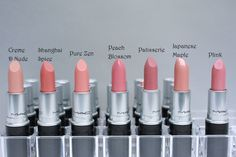 mac lipstick swatches 7 All MAC Lipsticks Photos and Swatches Mac Lipstick Swatches, Lipgloss, Nude Lipstick, Lipstick Colors, Lip Colors, Mac Lipsticks, Neutral Colors, Lipstick Shades, Liquid Lipstick