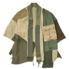 Kapital KOUNTRY Military Rebuild Happi Shirt