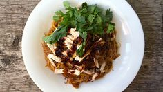 Asian Spicy Curry - Shredded Chicken