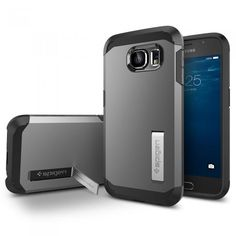 Spigen tough armor case Galaxy S6. Hitta fler skal till Samsung Galaxy S6: http://www.phonelife.se/samsung-galaxy-s6-skal