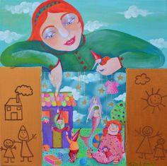 Alexia Molino - La scatola dei sogni (50x50)