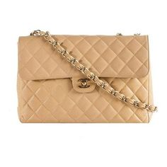Chanel Vintage Classic 2.55 Quilted Caviar Leather Maxi Flap Shoulder... (€3.095) ❤ liked on Polyvore featuring bags, handbags, bolsas, purses, chanel, accessories, chanel purse, distressed leather handbags, chanel handbags and hand bags