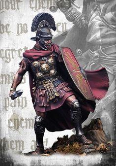 Roman Officer I C - Nocturna Models Ancient Rome, Ancient History, Roman Armor, Roman Empire, Scale Models, New Product, Warriors, Sculptures, Bible
