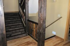 Best Reclaimed Wood Railings Railing Reclaimed Wood Stair 640 x 480