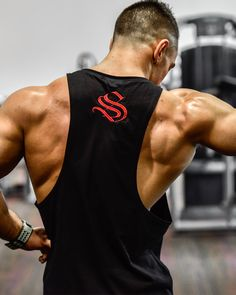 @strongliftwear Boulder Sleeveless - LIFT - Black www.strongliftwear.com