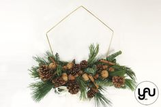 Coronite CRACIUN geometrice | YaU CRACIUN 2020 | YaU BLOG Christmas Wreaths, Christmas Decorations, Holiday Decor, Concept, Xmas Ideas, Ornaments, Blog, Home Decor, Art