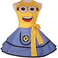 Part of my minion costume!!! I can't wait for Halloween!!!!