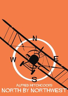 Alfred Hitchcock's 'North by Northwest', 1959 - Staring Cary Grant, Eva Marie Saint & James Mason. 1980's Movies, Great Movies, Film Movie, Films, Classic Movie Posters, Minimal Movie Posters, Minimal Poster, Poster Ads, Film Posters