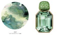 Jewelry in Art: Japanese Watercolor