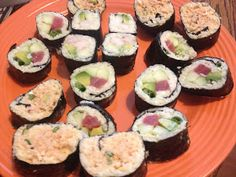 The Busy Broad: Low Carb Sushi - 3 Ways