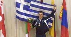 Πάλη: Χρυσός ο Πρεβολαράκης στο Παγκόσμιο πρωτάθλημα Ενόπλων Δυνάμεων