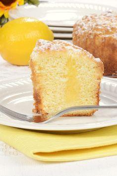 Lemon Poke Cake Recipe Made with Cake Mix and Instant Pudding