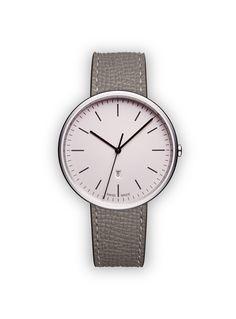 M38 Women's date watch in polished steel