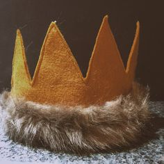 Where the Wild Things Are Inspired Max Crown, Nevermind Henry First Birthday…
