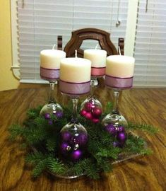 33 kreative und originelle Ideen für ADVENTSKRÄNZE Do you want to make your own Advent wreath and looking for inspiration? In this post you will find the most beautiful ideas for DIY Advent wre Christmas Centerpieces, Xmas Decorations, Christmas Time Is Here, Christmas Tree, Christmas Ideas, Xmas Crafts, Diy Wreath, Projects To Try, Holiday Decor