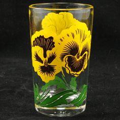 Boscul Peanut Butter Juice Glass Swanky Swig Vintage by charmings,