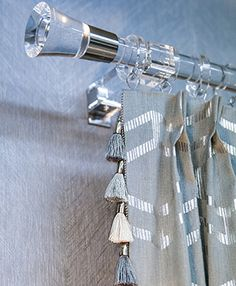 Brimar is a leading purveyor of classic and contemporary decorative trimmings and custom drapery hardware. Wholesale to the interior design trade. Acrylic Curtain Rods, Acrylic Rod, Clear Acrylic, Curtain Hardware, Window Hardware, Drapery Rods, Curtain Finials, Curtain Poles, Drapes Curtains